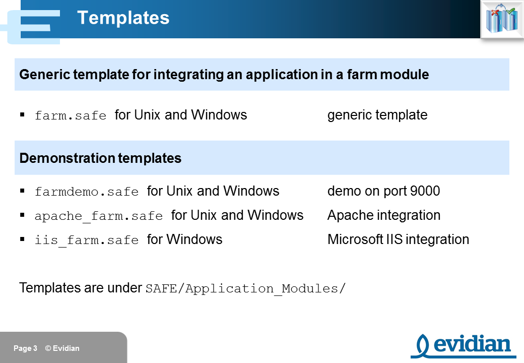Evidian SafeKit Training - Farm Module Configuration - Slide 3