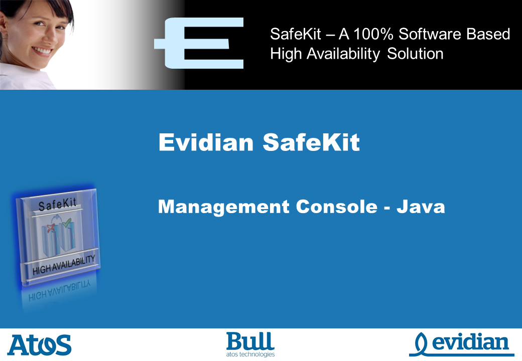 Evidian SafeKit Training - Java Management Console - Slide 1