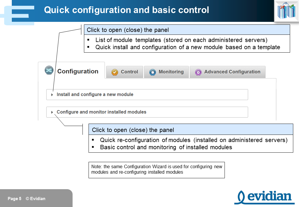 Evidian SafeKit Training - Management Console Web - Slide 5