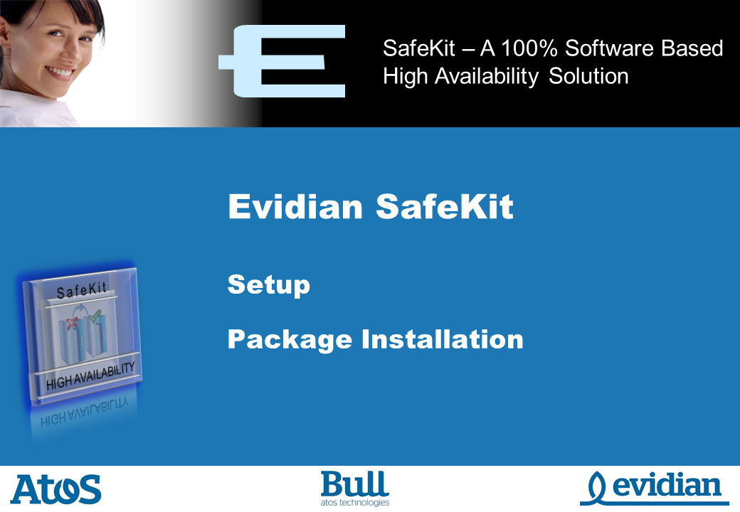 Evidian SafeKit Training - Setup - Slide 1