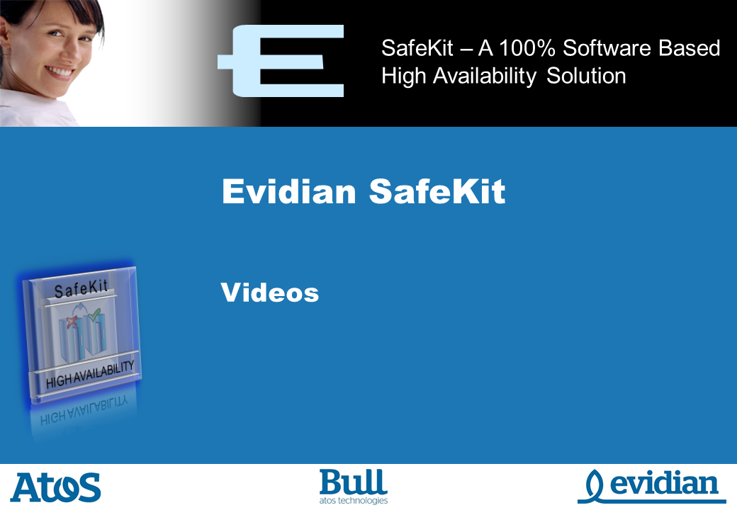 Evidian SafeKit Training - Videos - Slide 1