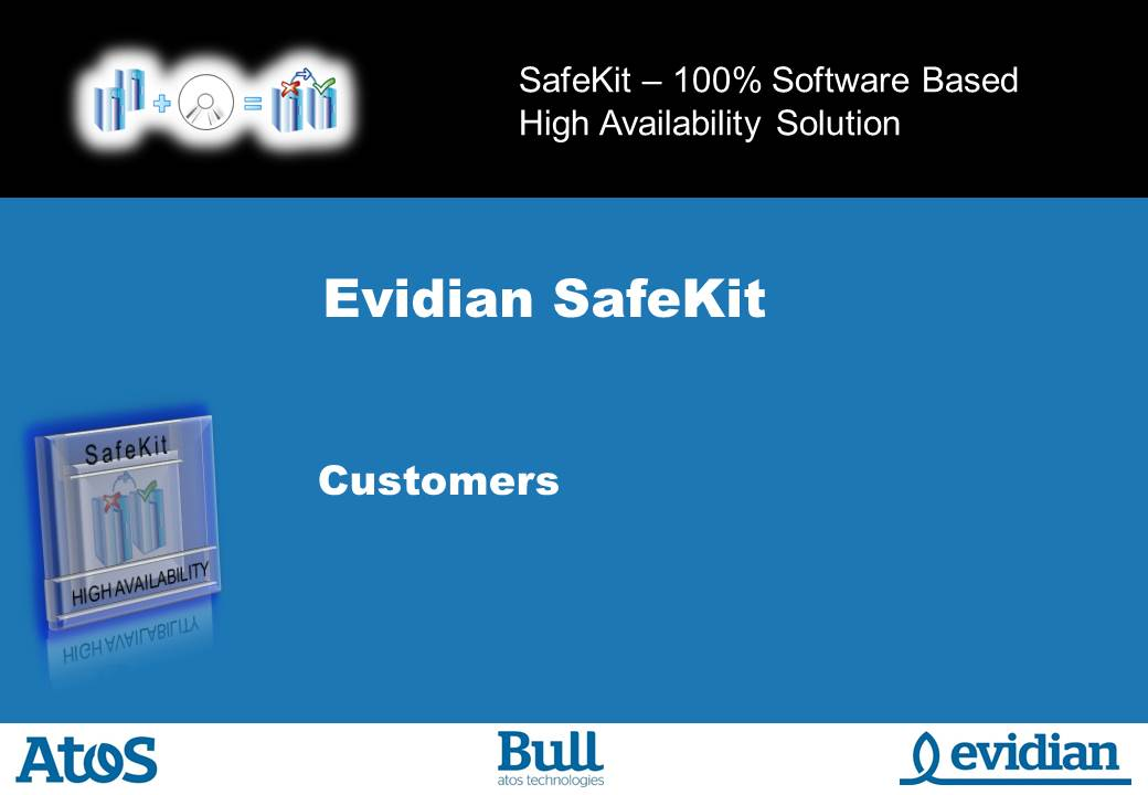 Evidian SafeKit Training - Customers - Slide 1
