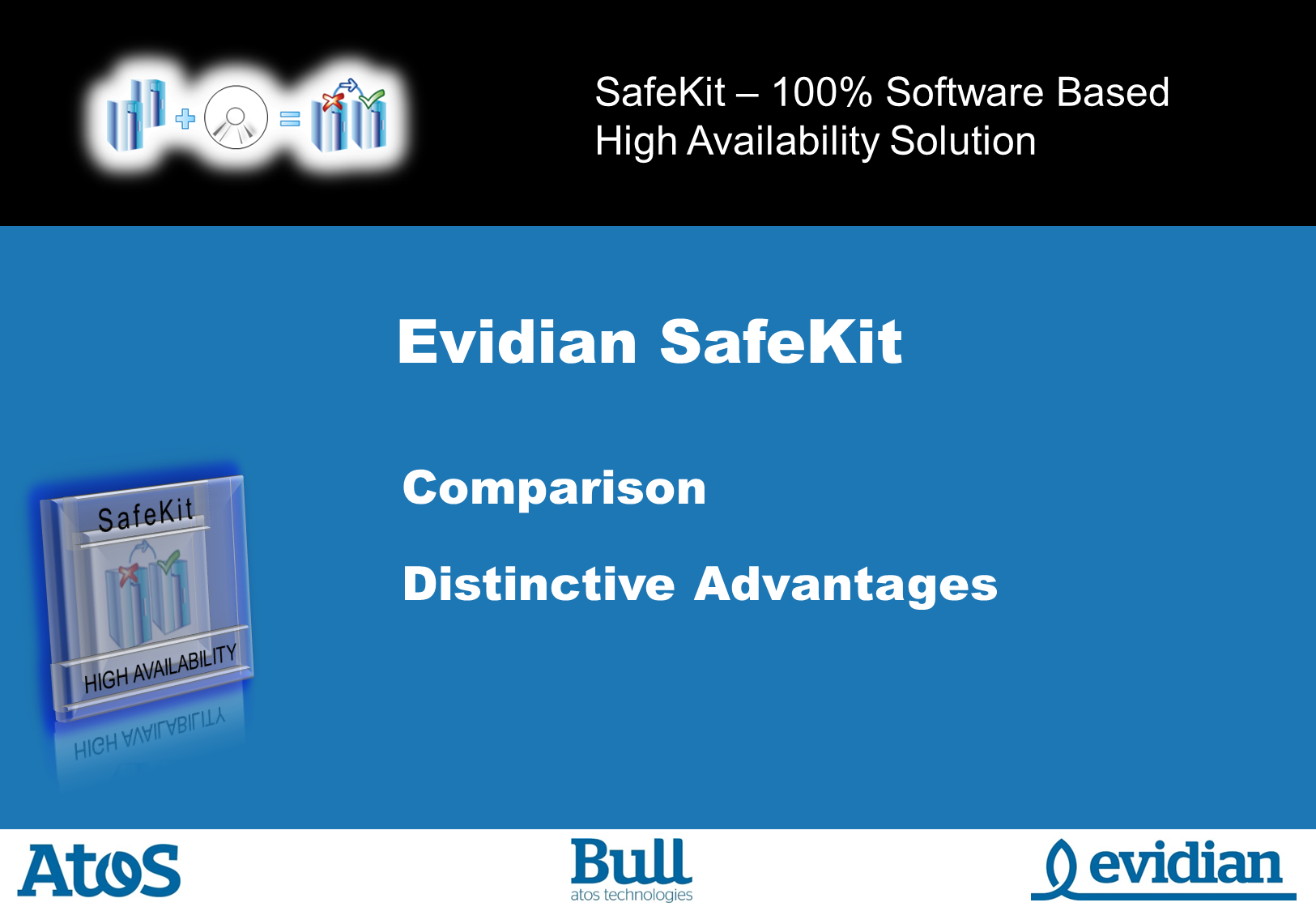 Evidian SafeKit Training - Comparison - Slide 1