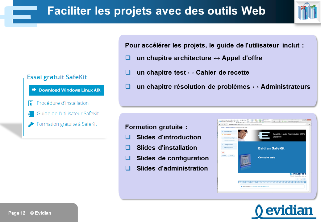 Formation à Evidian SafeKit - Introduction - Slide 12