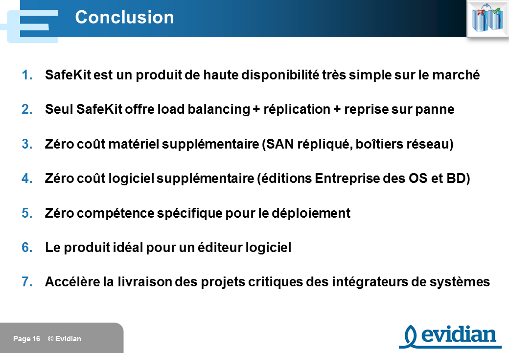 Formation à Evidian SafeKit - Introduction - Slide 16