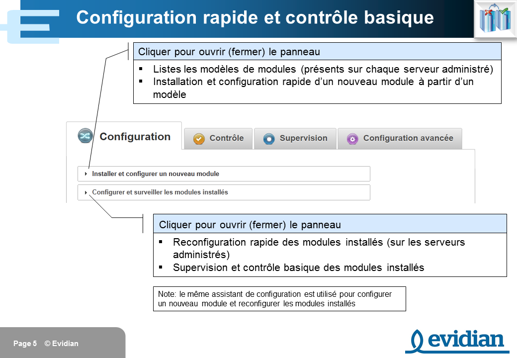 Formation à Evidian SafeKit - Console de gestion web - Slide 5