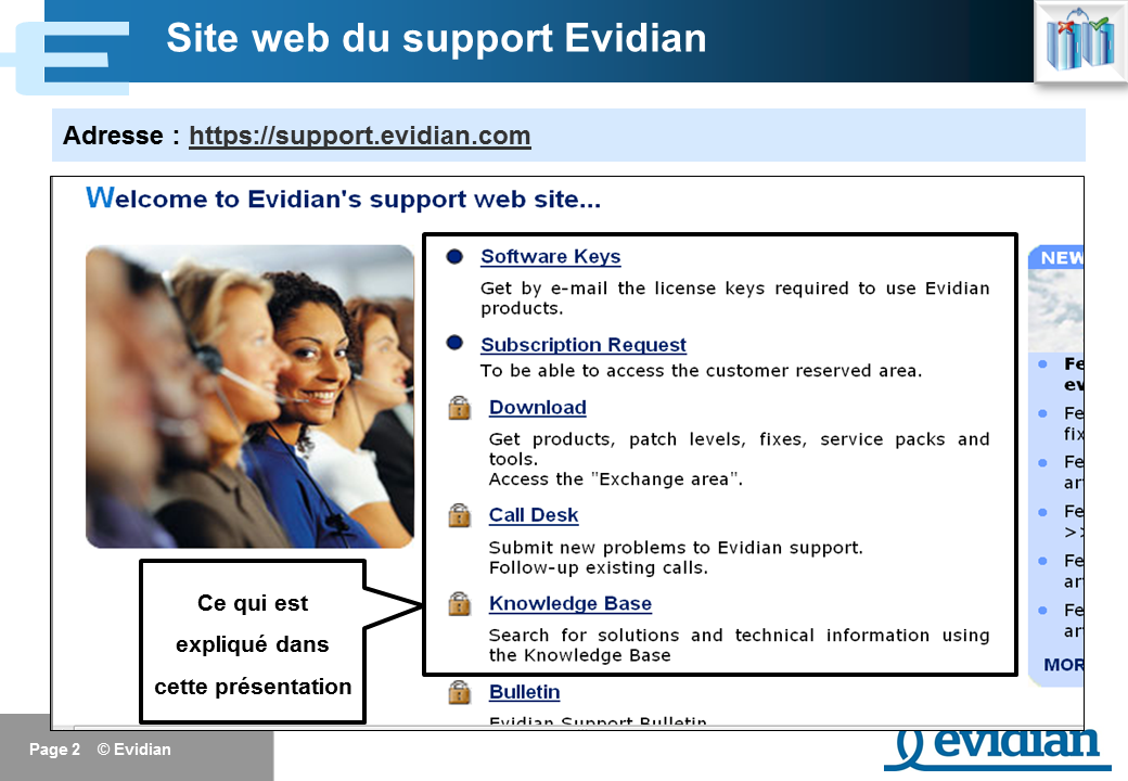 Formation à Evidian SafeKit - Support - Slide 2