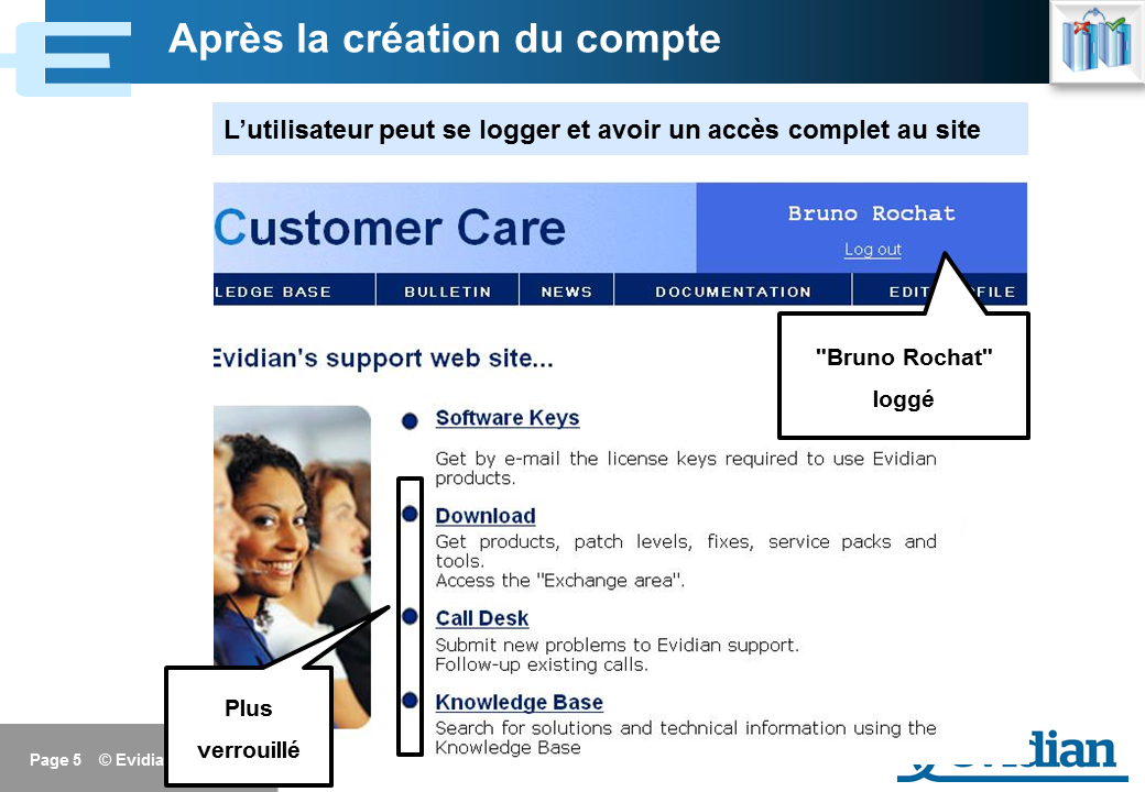 Formation à Evidian SafeKit - Support - Slide 5