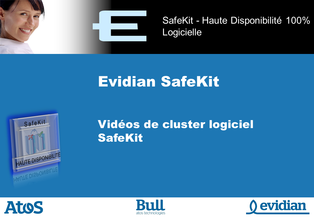 Formation � Evidian SafeKit - Videos - Slide 1