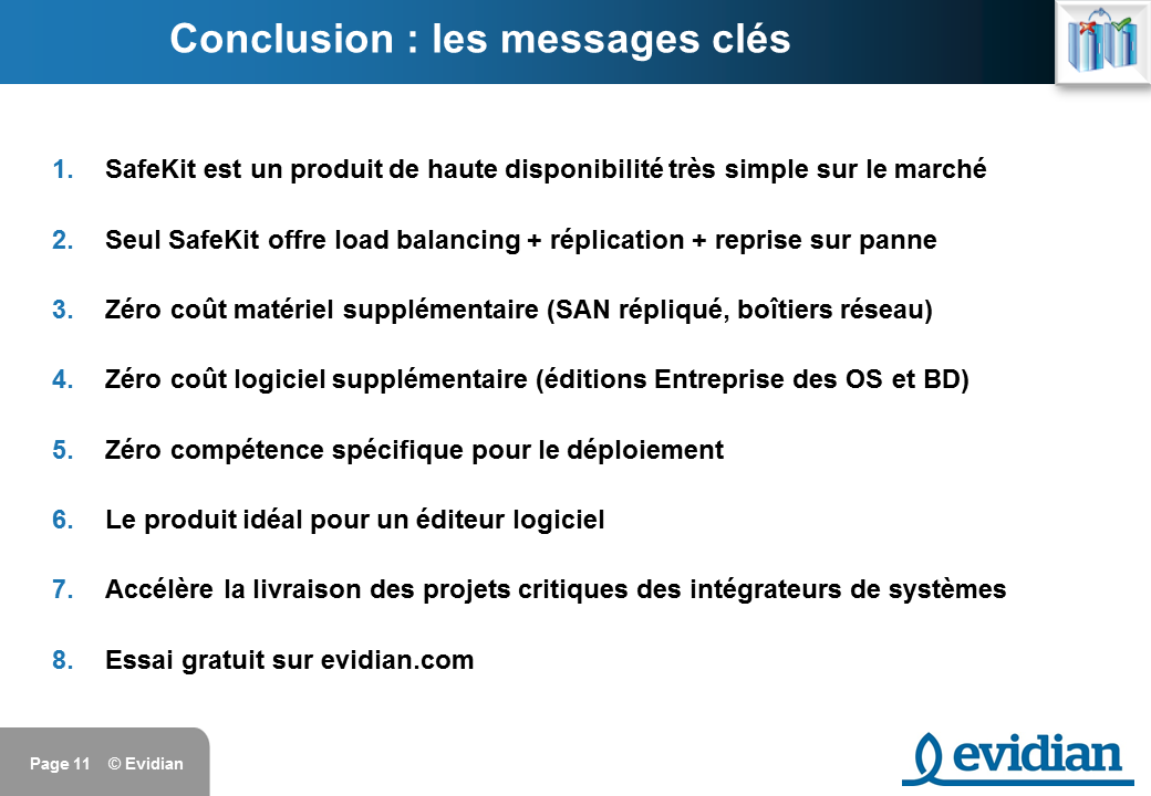 Formation à Evidian SafeKit - Introduction - Slide 11
