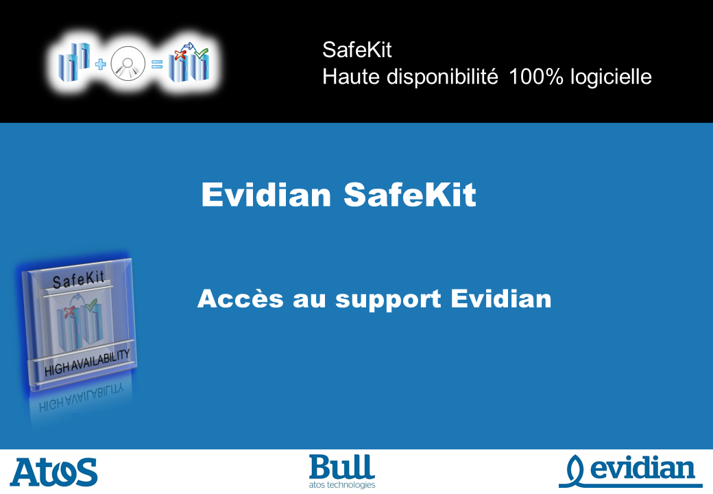 Formation à Evidian SafeKit - Support - Slide 1