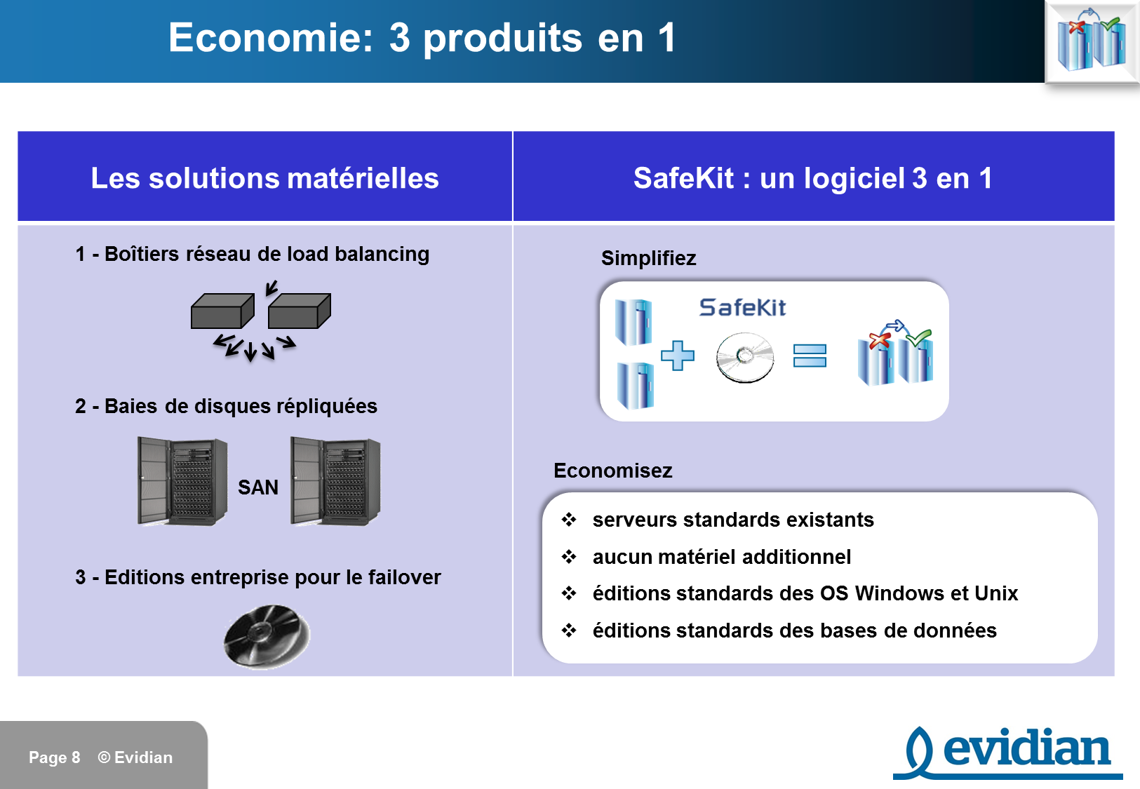 Formation à Evidian SafeKit - Introduction - Slide 8