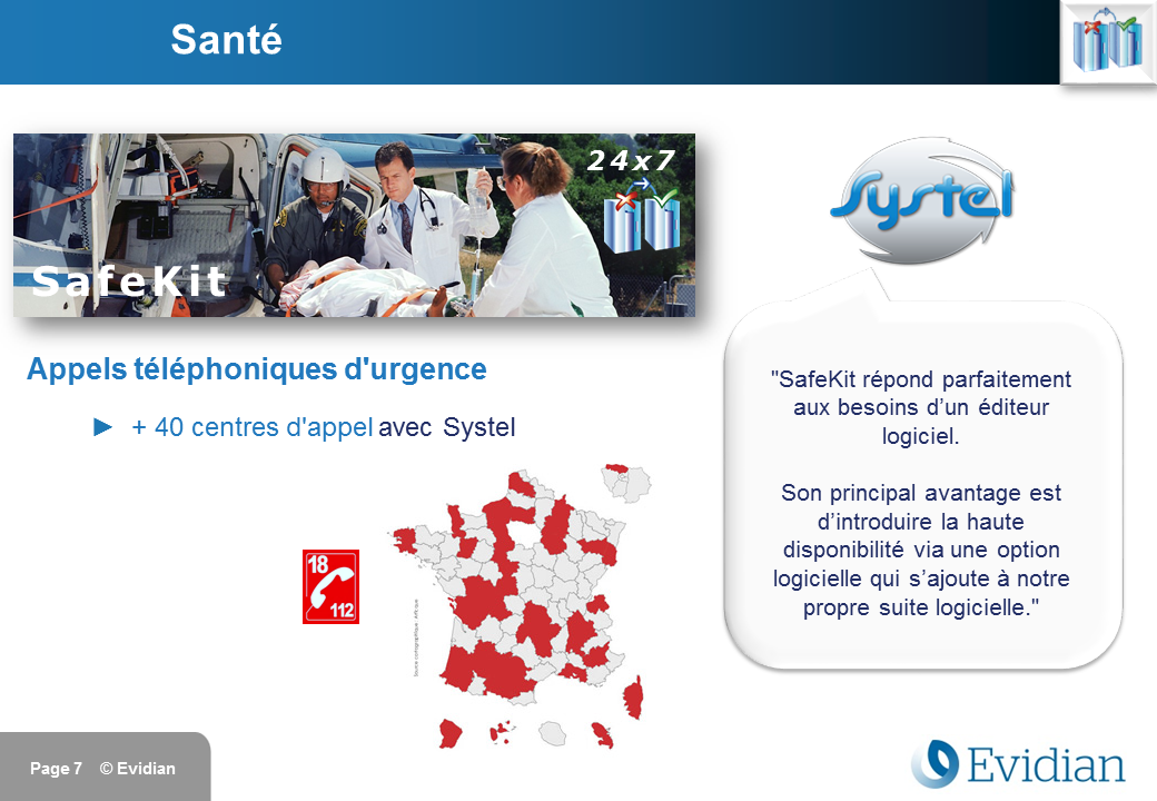 Formation à Evidian SafeKit - Clients - Slide 7