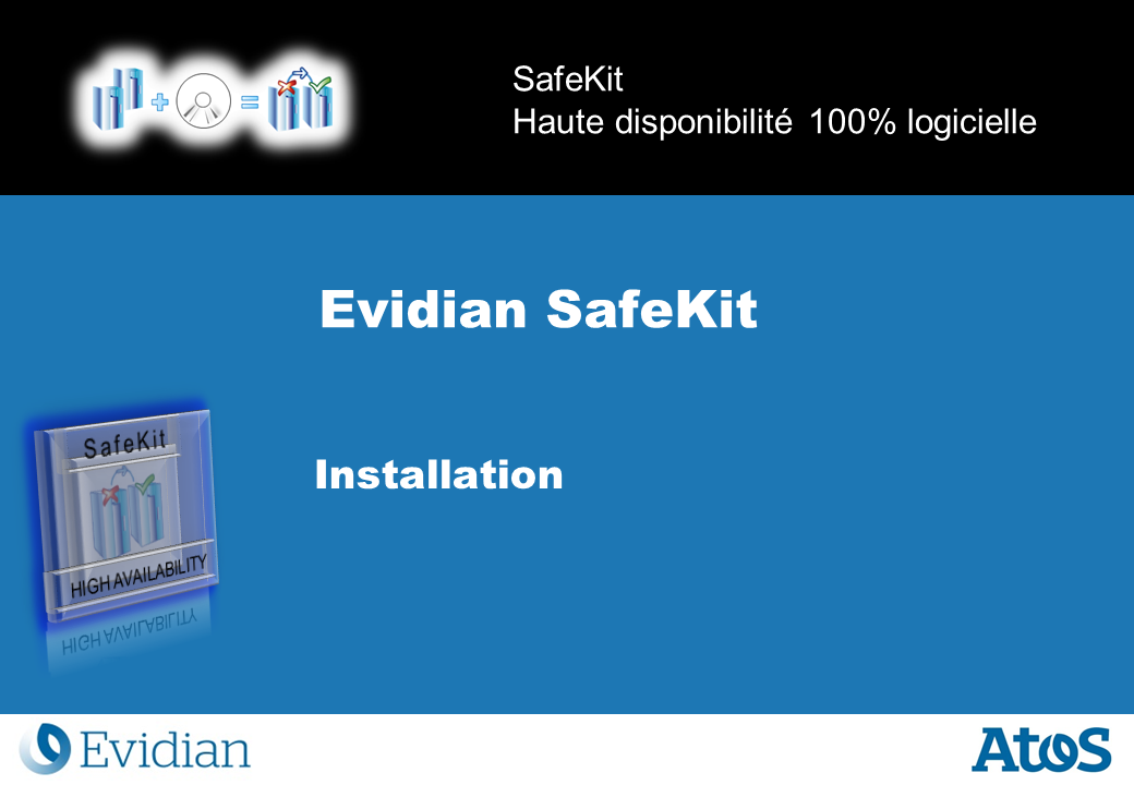 Formation à Evidian SafeKit - Installation - Slide 1