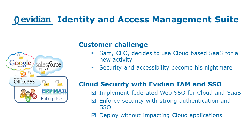 Evidian - Security Software Publisher - Slide 2
