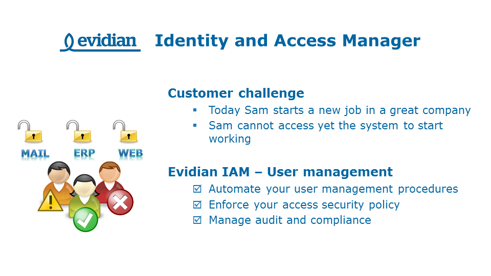Evidian - Security Software Publisher - Slide 3