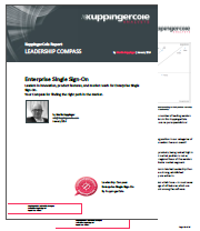 KuppingerCole (クピンガーコール) のレポート – Leadership Compass: Enterprise Single Sign-On