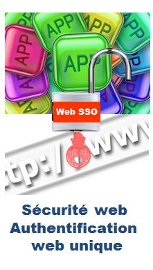 Evidian - La sécurité web est appportée avec un portail web sécurisé et une authentification web unique.