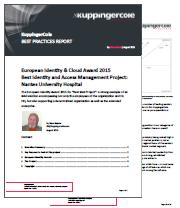 Best IAM Project award