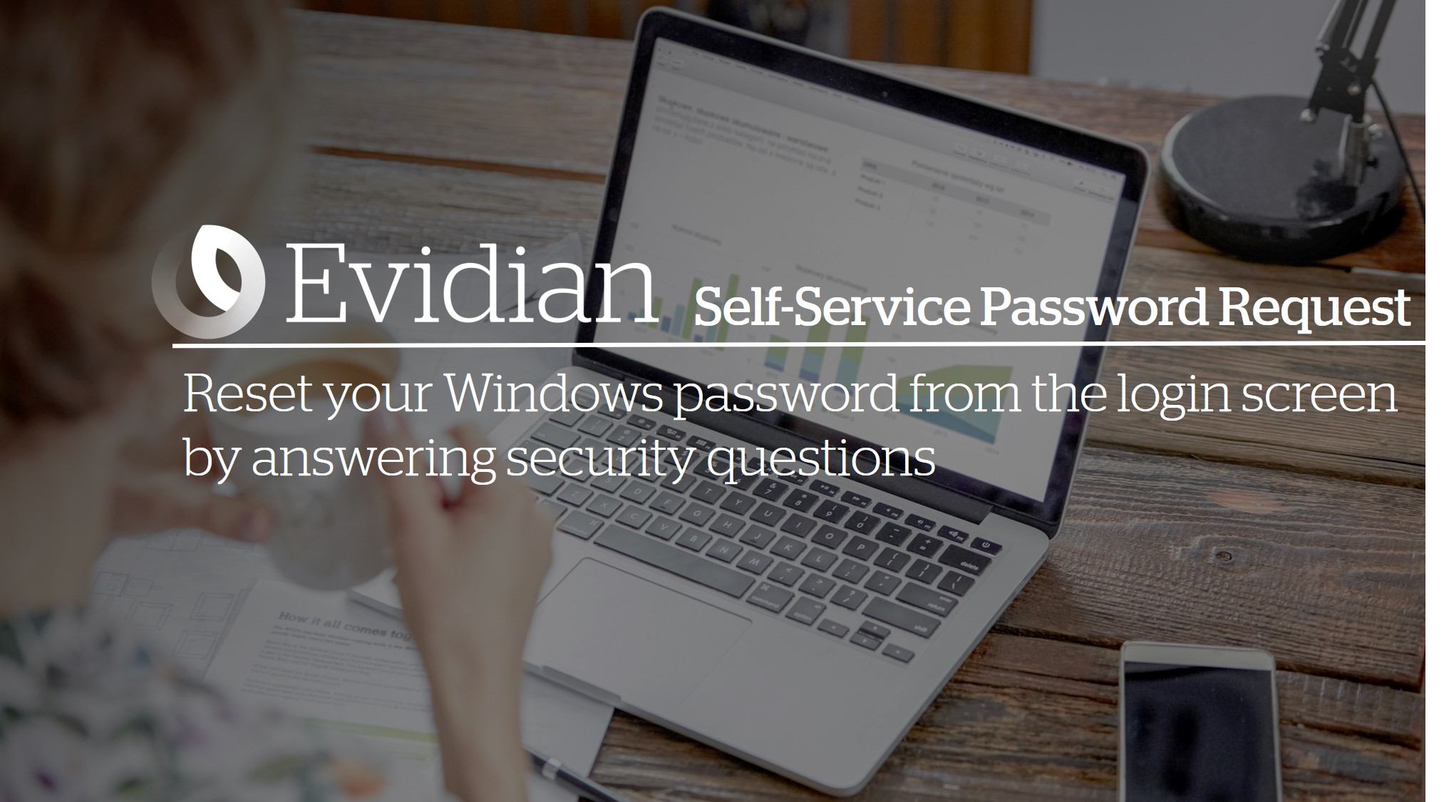 Reset your Windows password from the login screen by answering security questions